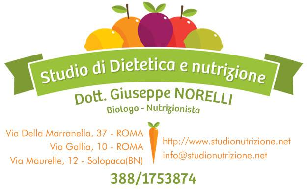 Nutrizionista Roma - dott. Giuseppe Norelli
