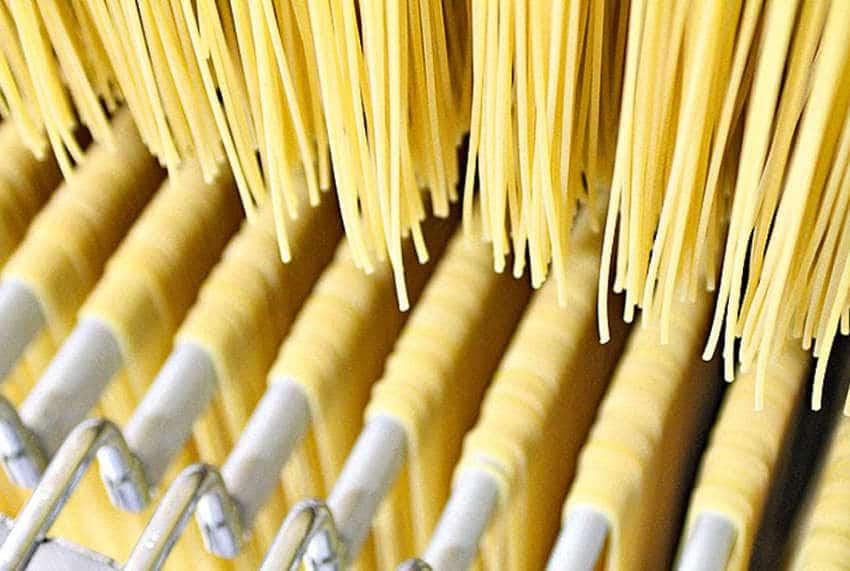 tecniche di produzione della pasta